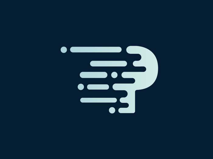 Inspirational Dot Tip Logo Design