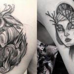 Artist makes Tattoos that Look like Pencil Drawings