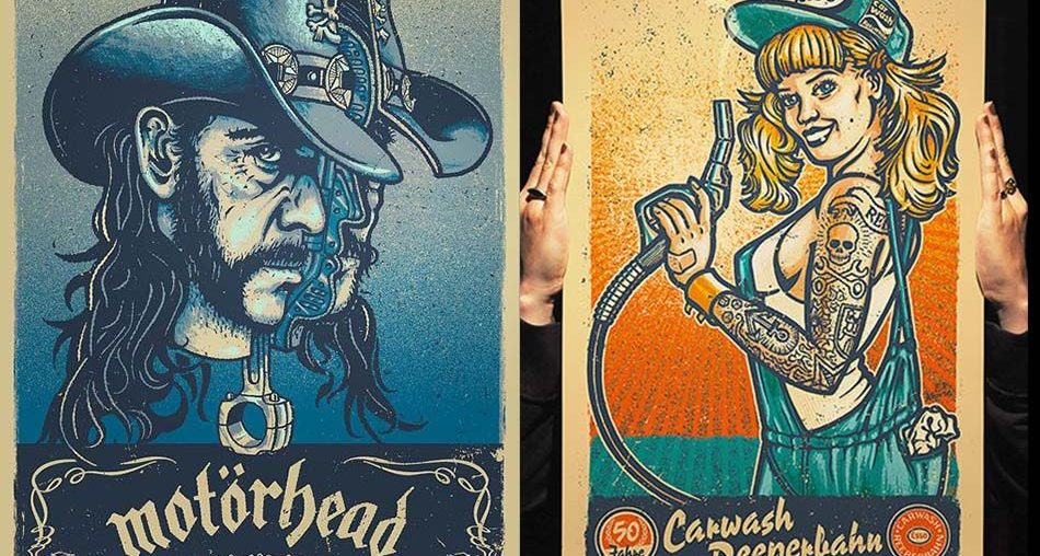 Cool Gig Posters by Lars