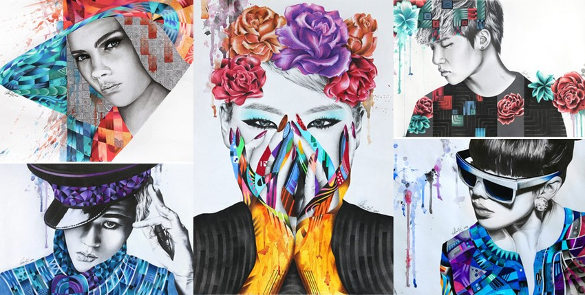 Cool Portraits by Monica Sutrisna