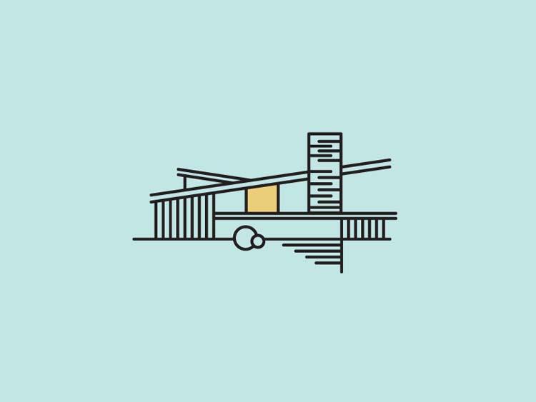 Inspirational-Line-Art-Logo-Designs-14