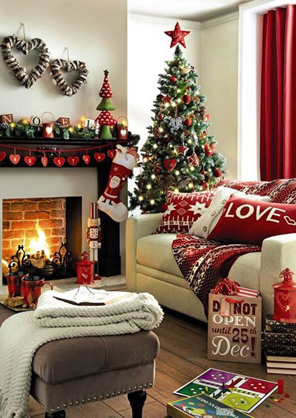 Home Christmas Decorations 30 christmas home decoration ideas