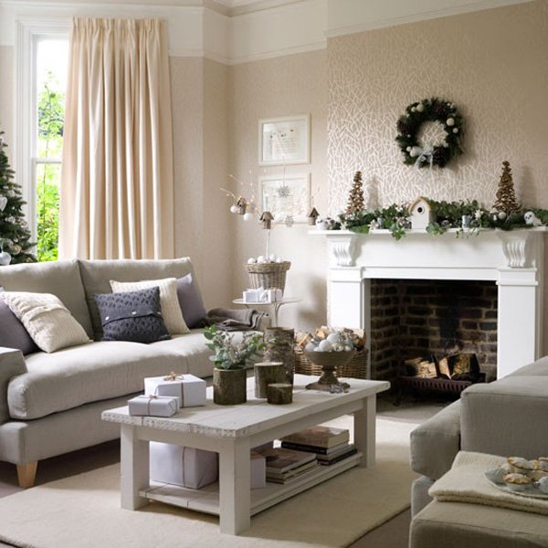 Winter Home Decorating Ideas Part - 35: ... Christmas-Home-Decoration-Ideas ...