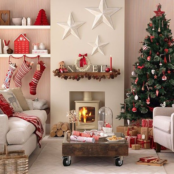30 christmas home decoration ideas for Christmas home designs