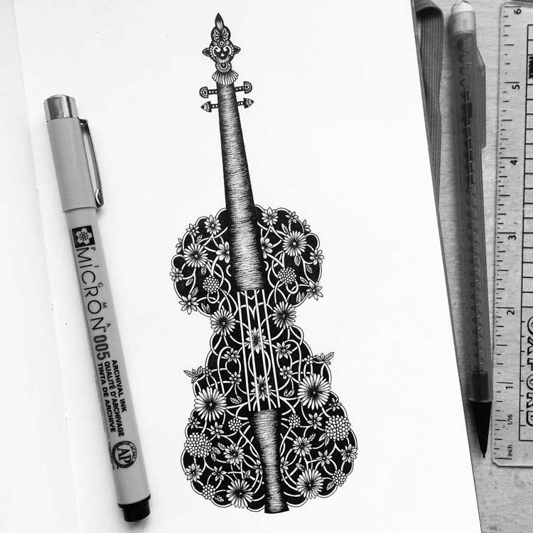 Drawing Super Detailed Art