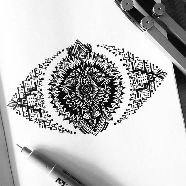 Drawing-Super-Detailed-Art