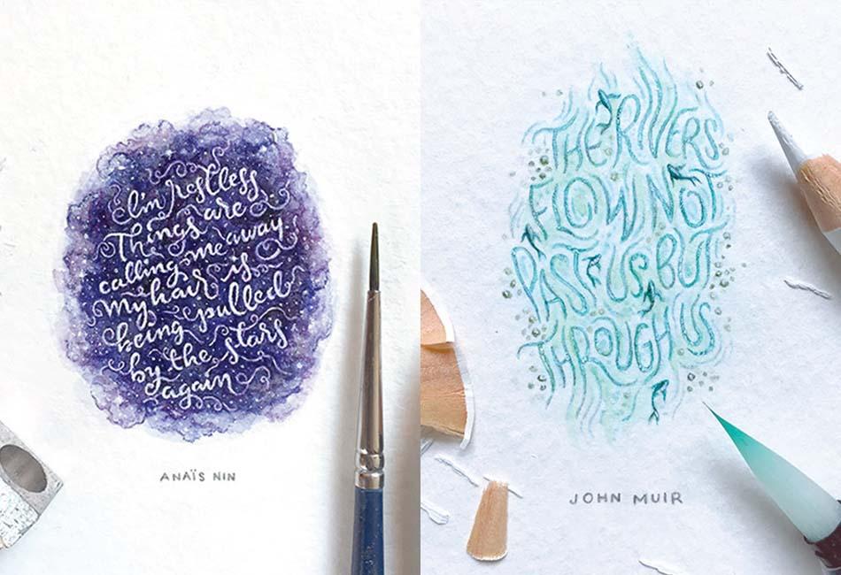 Mini Lettering Series by Dangerdust
