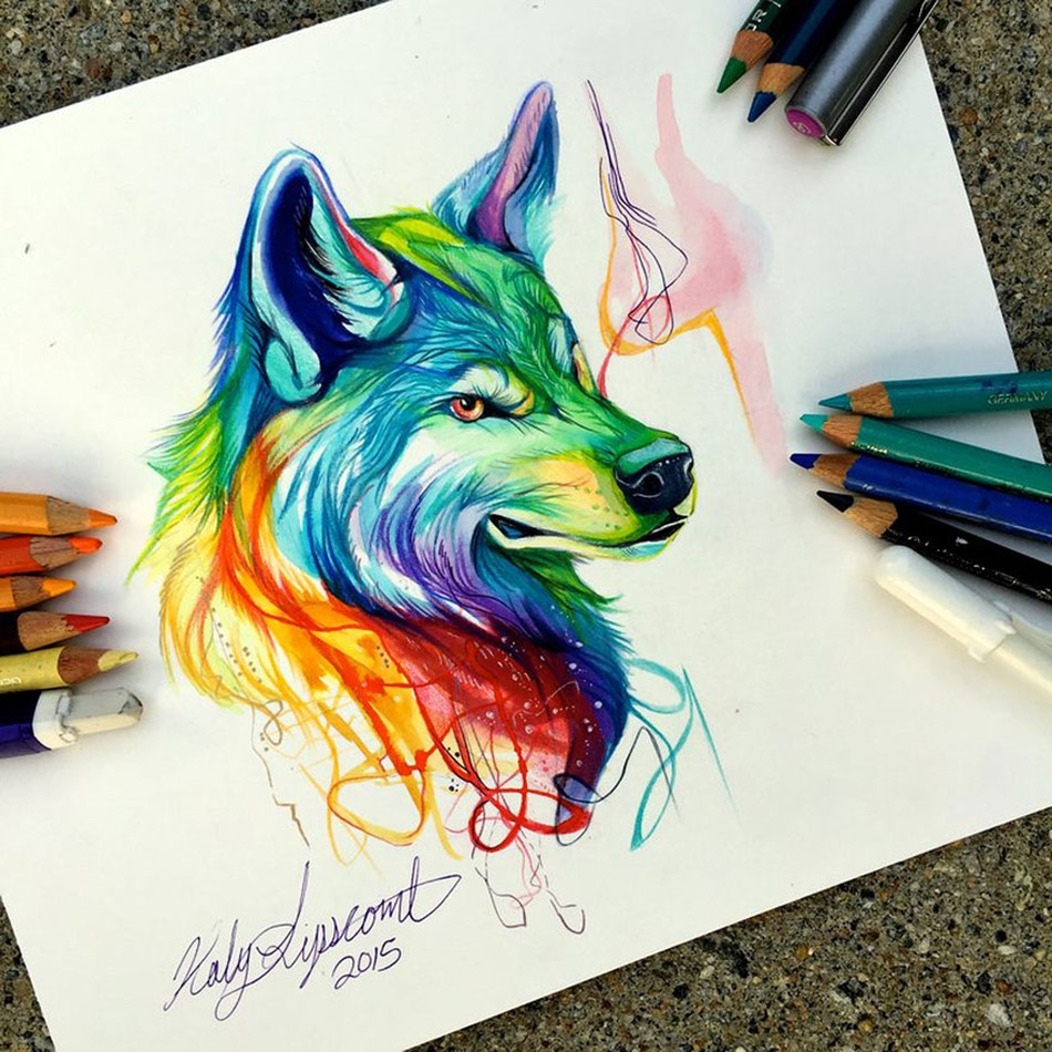 Pencil and Marker Illustrations