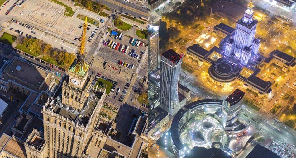 Warsaw on Air by Maciej Margas