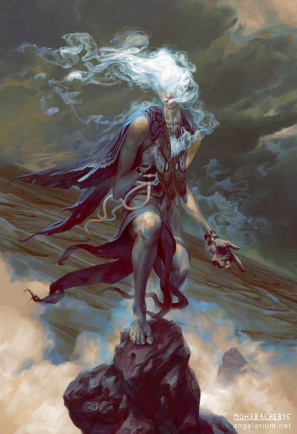 Angelic Character Designs Illustration