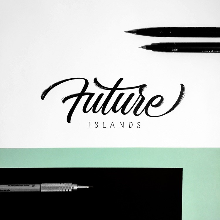 Beautiful Hand Lettering by Jonathan Faust