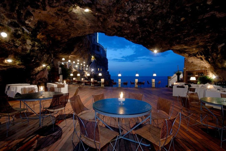 Italian Cave Restaurant with Awesome View
