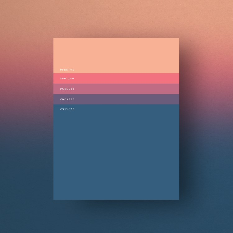 Minimalist Color Palettes 2015