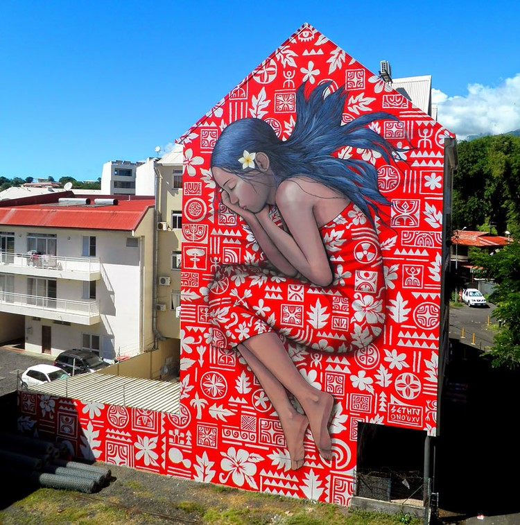 Street Artist Transformed Buildings into Works of Art