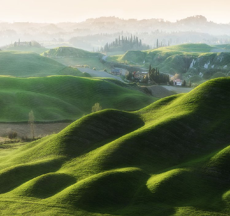 Beautiful Hill Photography of Tuscany