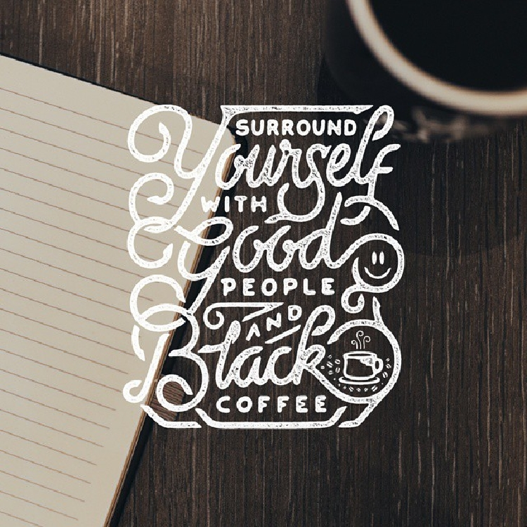 Motivational Lettered Quotes by Mister Doodle