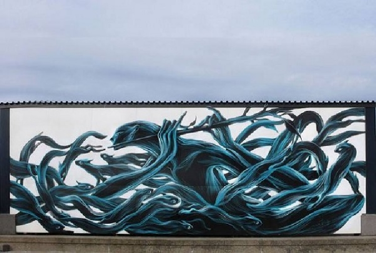 Murals of Wild Animals
