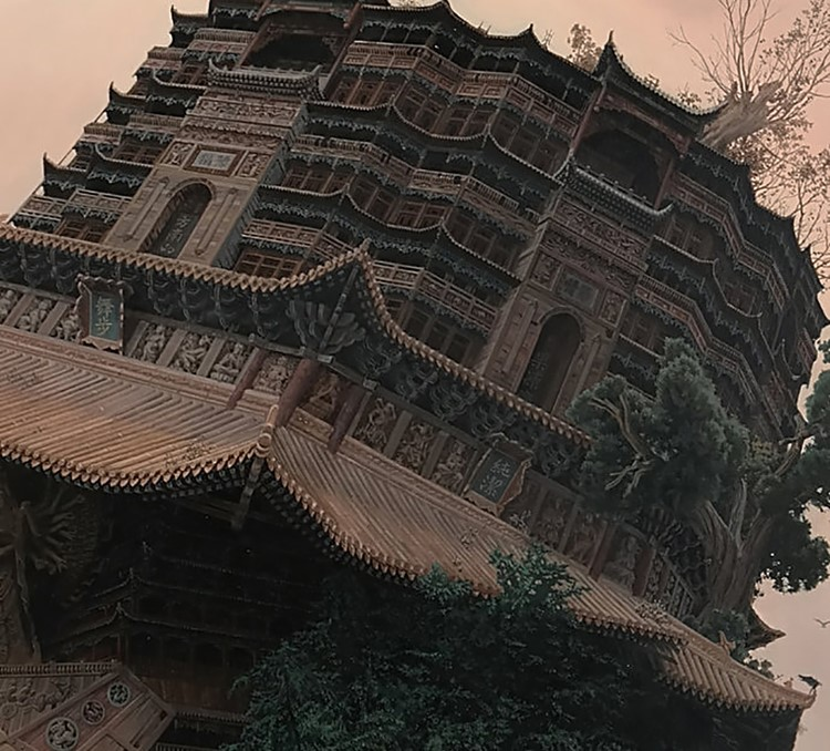 Portraits-of-Chinese-Rockstars-Look-Similar-to-Monumental-Temples