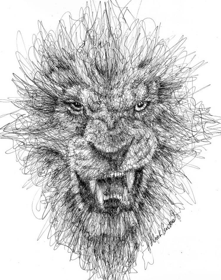 Wonderful-Pen-Stroke-Drawings-by-Italian-Artist-Erick-Centeno-018