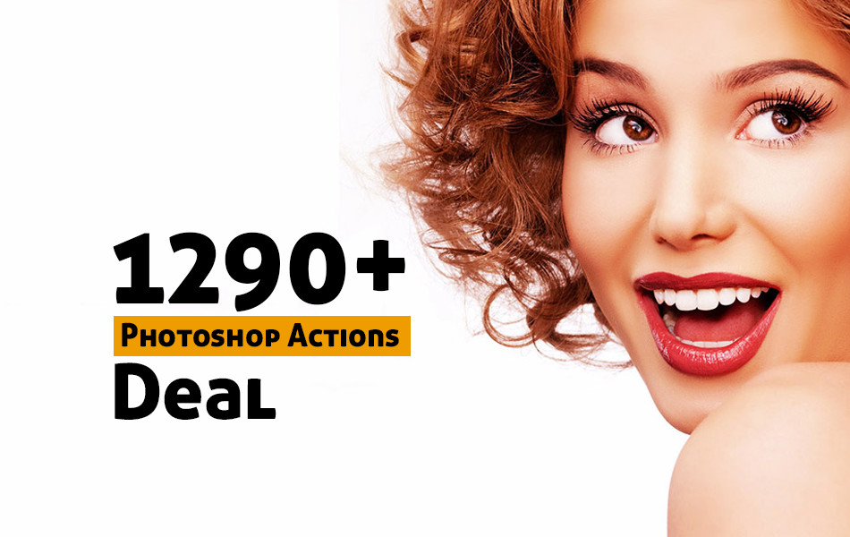 1290+ Photoshop Actions Bundle Deal
