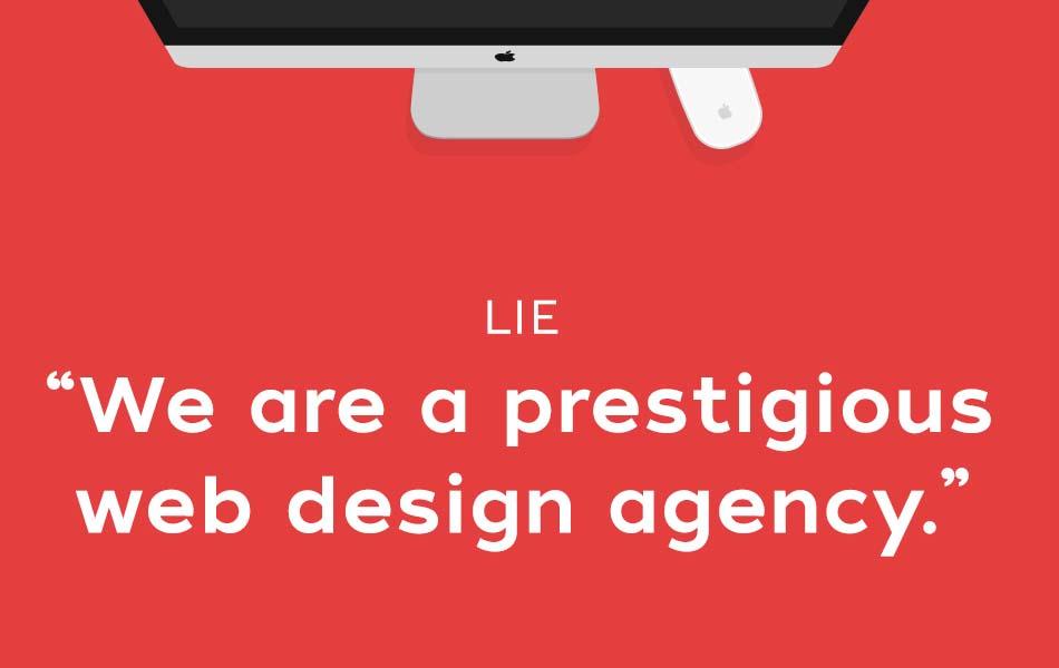 20 Lies Designers Tell Their Clients
