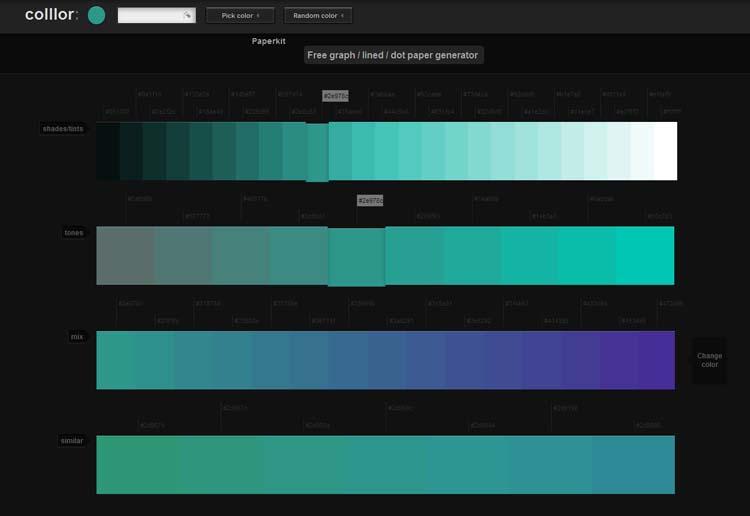 Random Color Generator for Web Designers