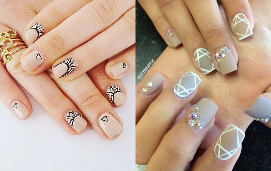 Abstract Nail Art Ideas