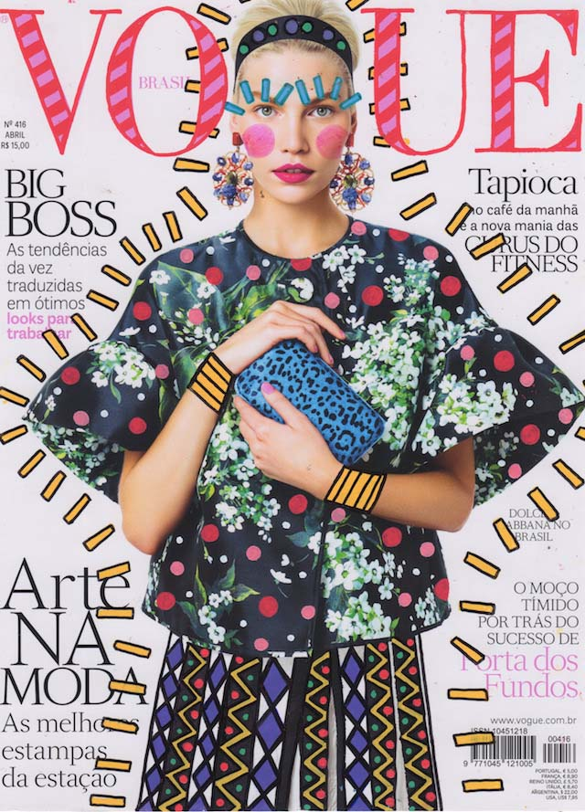 Artistic Illustrations On Fashion Magazine Covers