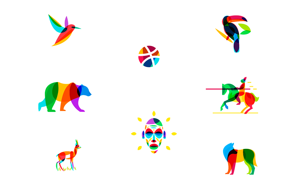 16 Awesome Overlay Icon Designs