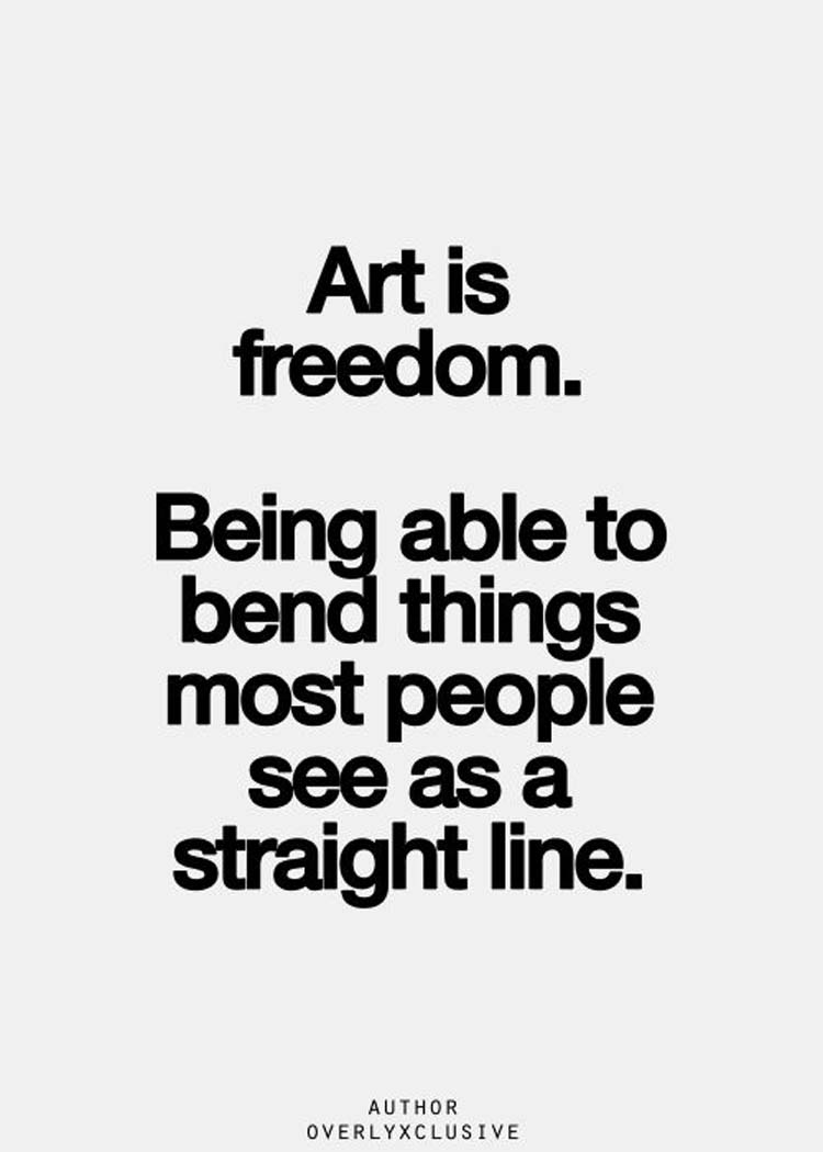 Straight Line Intro The Art Of Closing : Motivating artist quotes to spark your inspiration