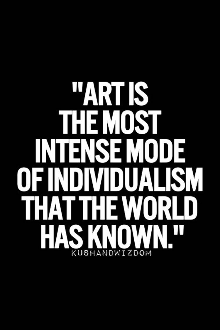 Motivating Artist Quotes
