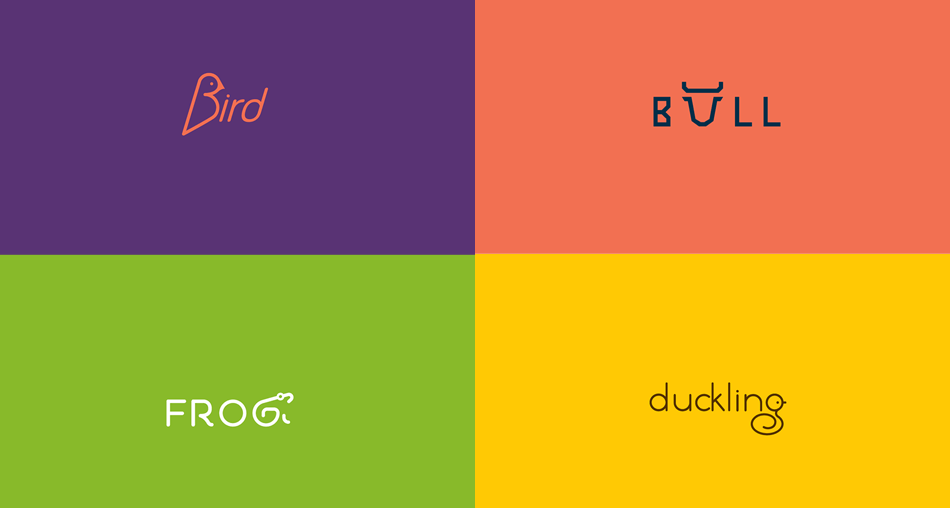Animal Wordmarks Logo Designs