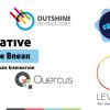 Creative Circle Break Logo Designs Inspiration