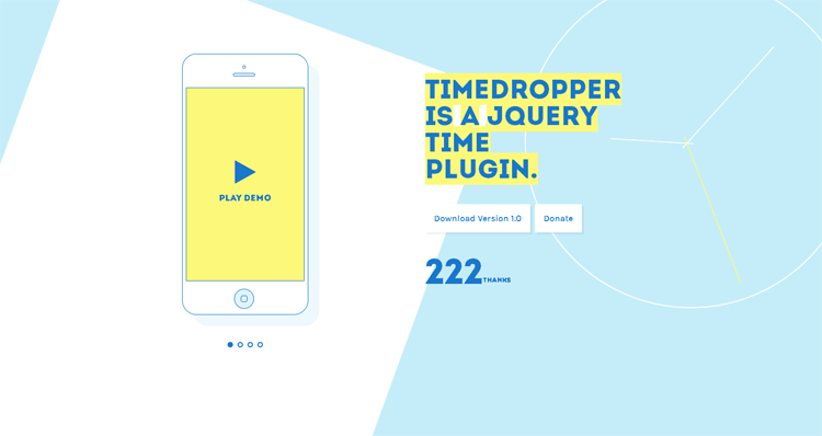 JQuery Time Plugin - Timedropper