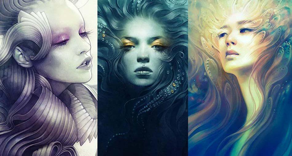 Beautiful Classy Illustrations