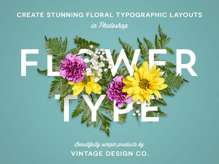 Floral-Typography-Designs-Blend-with-Flowers-019