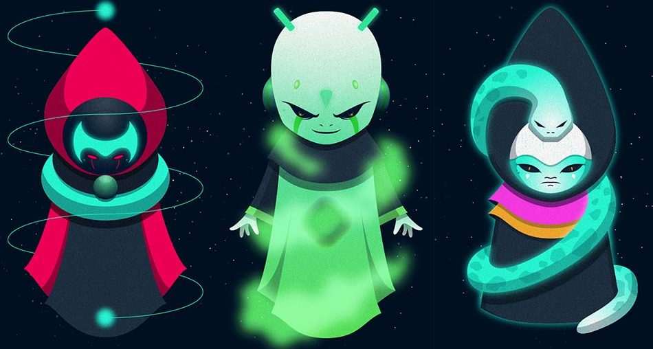 Galactic Monks by Zuco