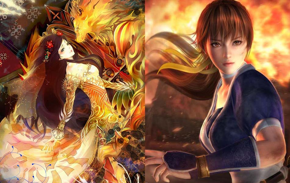 Stunning 3D Anime Characters Designs