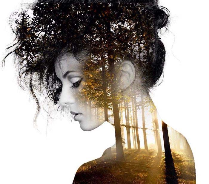 Blissful-Double-Exposure-Portraits