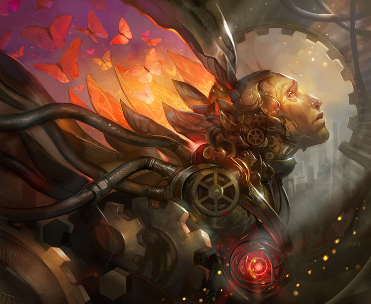 Awesome Sci-Fi Digital Art - Artificial Dream 2