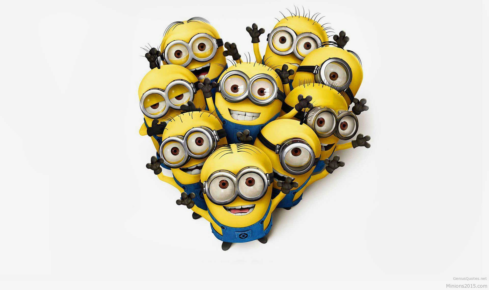 Cute Minions Wallpapers Collection 016