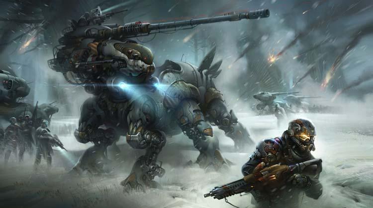 Winter Behemoth Destiny fan art