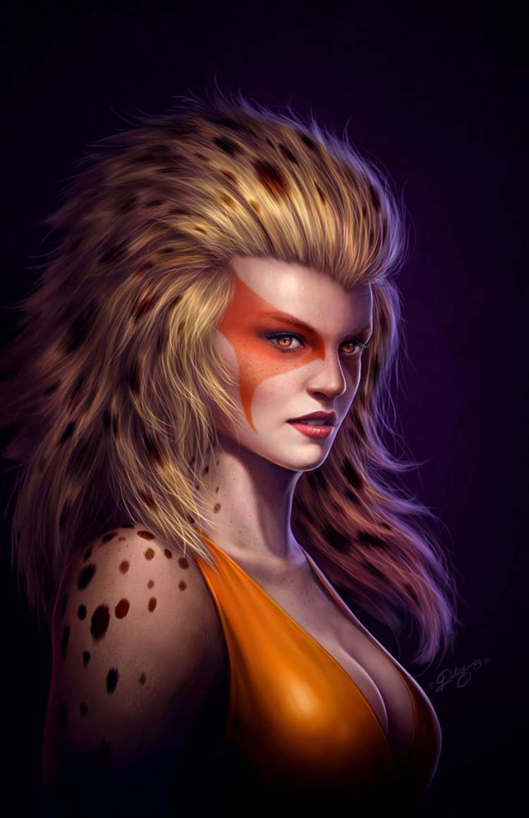 Cheetara 3D Fan Art Inspiration