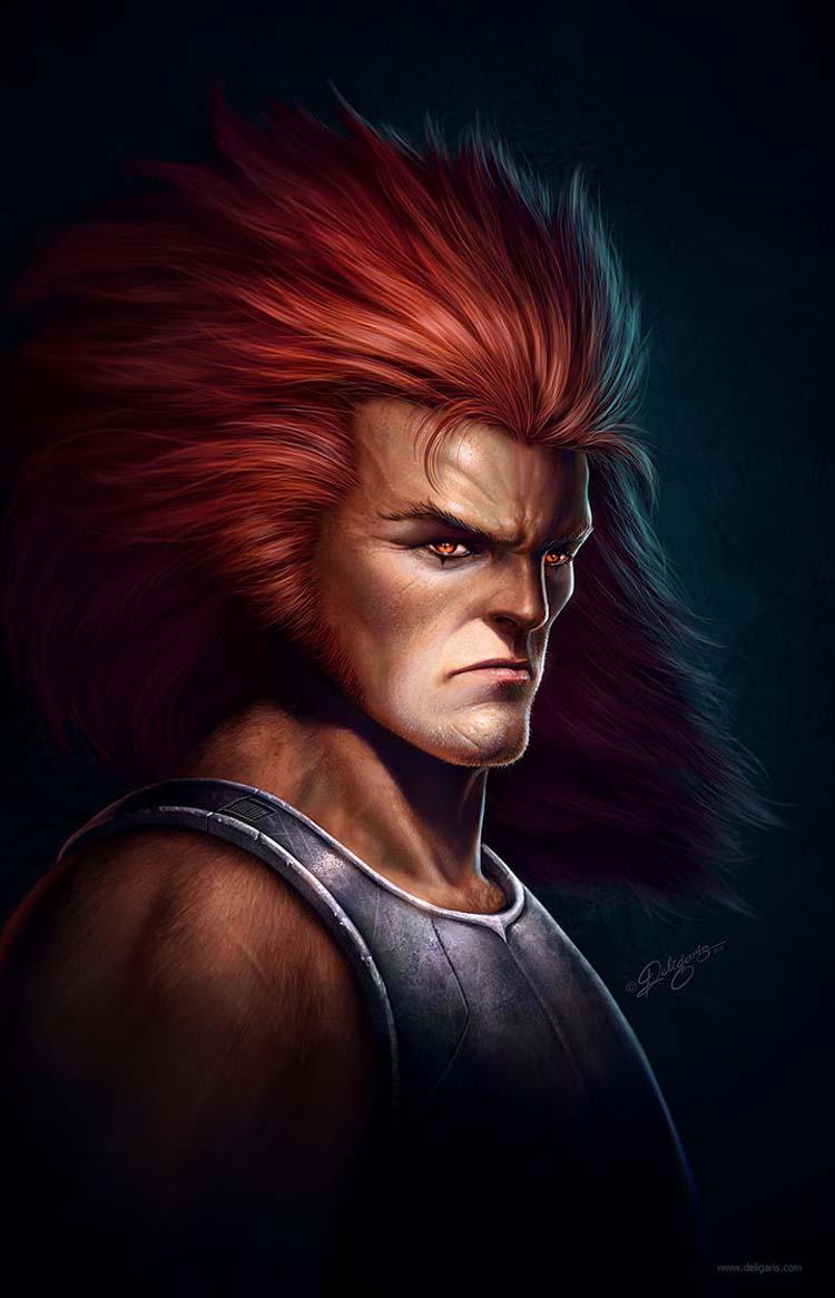 Lion-O Fan art