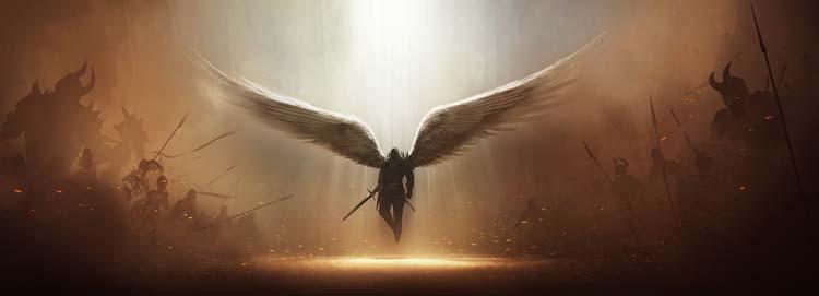 Diablo 3 Tyrael Fan Art WIP