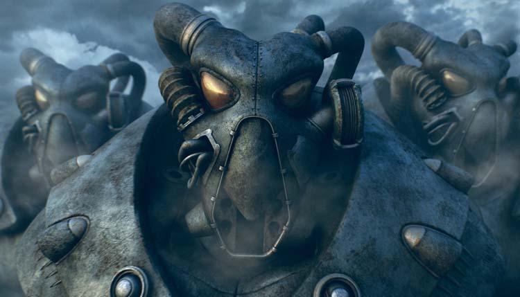 Fallout 2 Fan Art: Cold Encounters