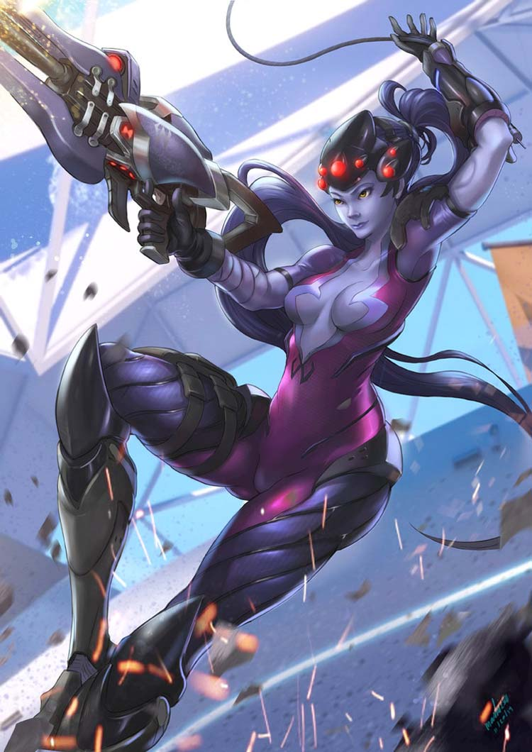 widow Fan art