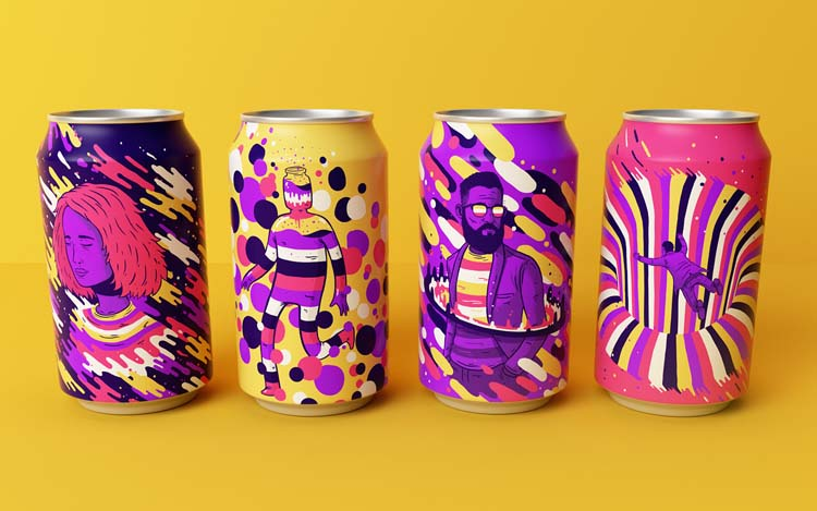 Colorful Brand Packaging Design