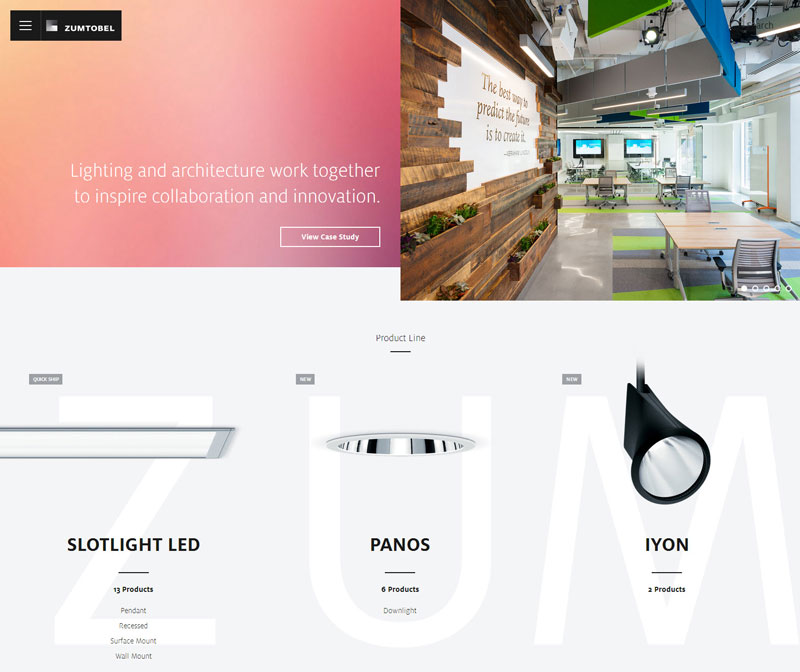 Examples of Minimal Website Designs 2016
