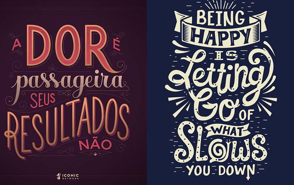 Inspiring Lettering and Typography Designs